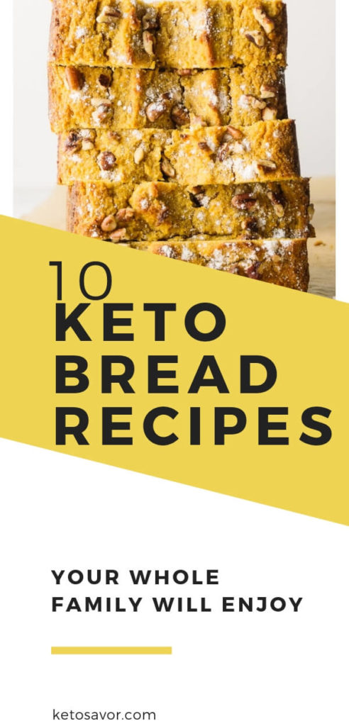 10+ Best Keto Bread Recipes