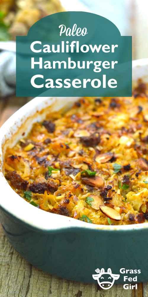 Keto Hamburger Casserole | Nutritious Keto & Low Carb Casserole Recipes | heall