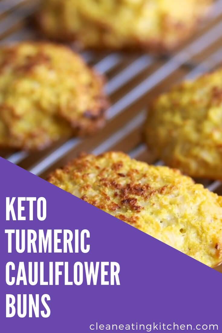 Turmeric Cauliflower Buns