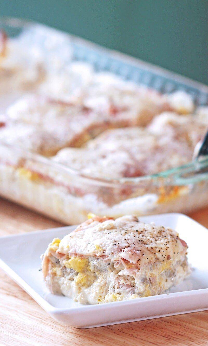 Egg Casserole: Low Carb Breakfast Lasagna | Nutritious Keto & Low Carb Casserole Recipes | heall