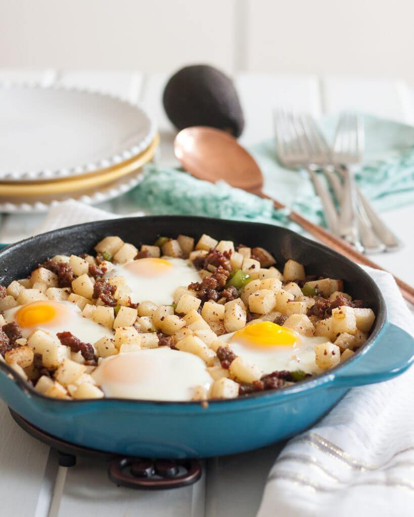 Low Carb Jicama Breakfast Skillet | Nutritious Keto & Low Carb Casserole Recipes | heall