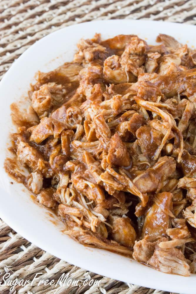 Nutritious Keto Crockpot Recipes: Crock Pot Sugar Free BBQ Pulled Chicken