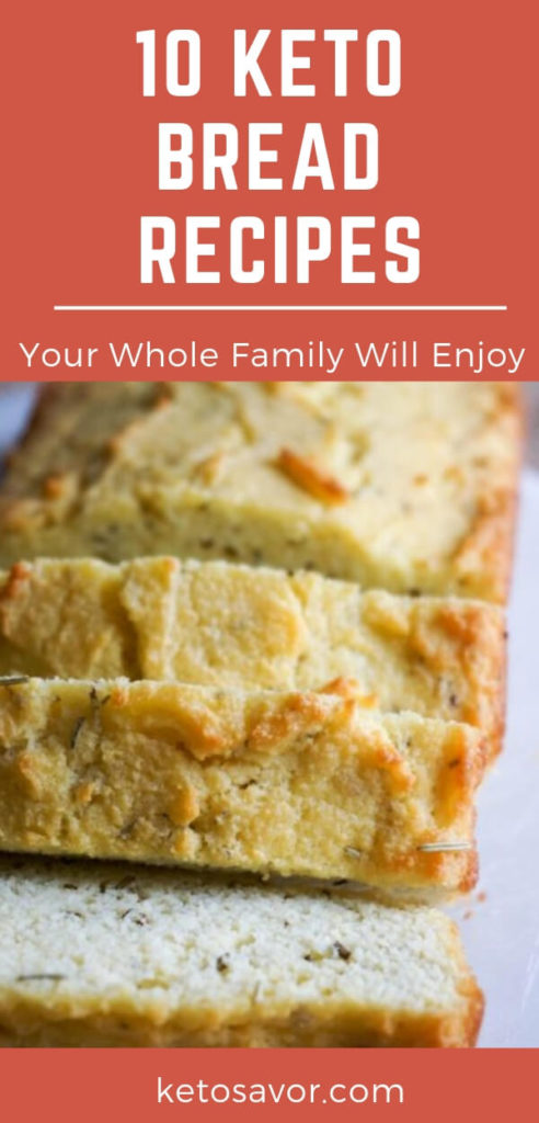 10 Best Keto Low Carb Bread Recipes For Ketogenic Diet