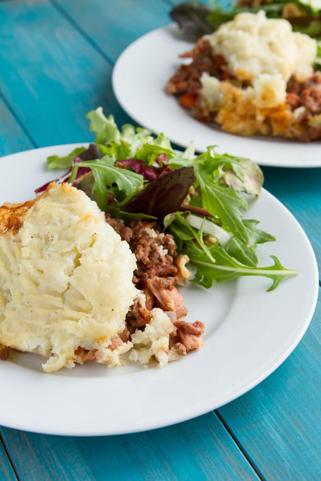 Bacon Shepherd's Pie | Nutritious Keto & Low Carb Casserole Recipes | heall