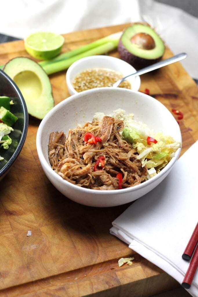 Nutritious Keto Crockpot Recipes: Keto Crockpot Dinner Chinese Pulled Pork