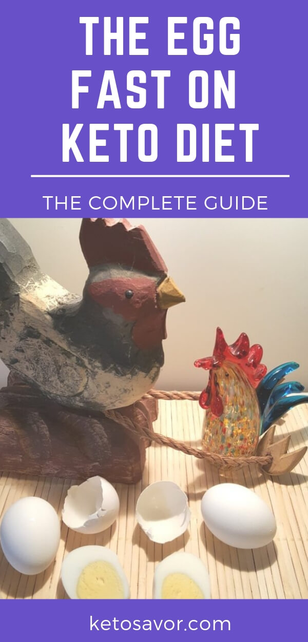 guide on the egg fast on keto diet