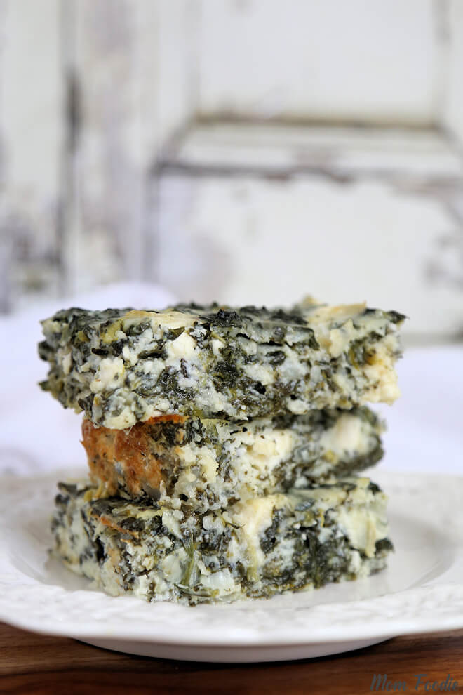 Low Carb Spanakopita Cottage Cheese and Egg Casserole | Nutritious Keto & Low Carb Casserole Recipes | heall