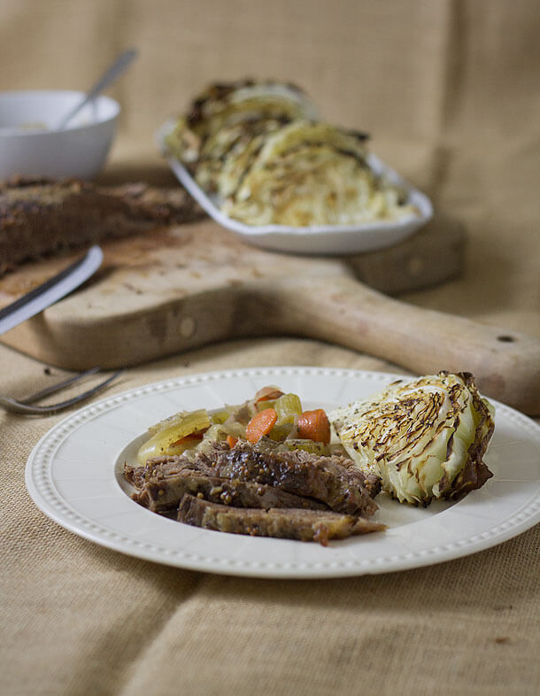 Nutritious Keto Crockpot Recipes: Slow Cooked Corned Beef Brisket and Roasted Cabbage