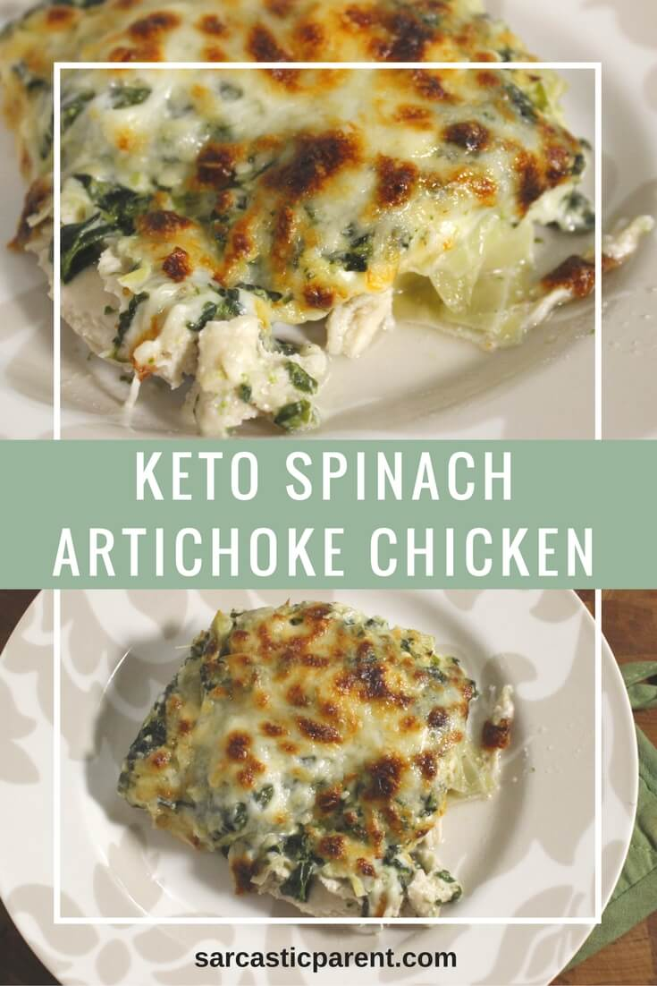 Keto Spinach Artichoke Chicken | Nutritious Keto & Low Carb Casserole Recipes | heall