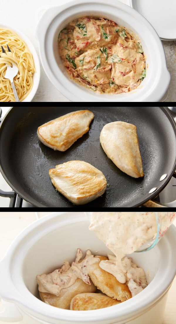 Nutritious Keto Crockpot Recipes: Keto Crockpot with Macros - Tuscan Chicken