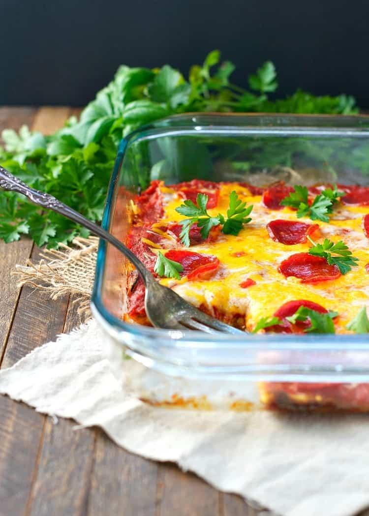 Dump and Bake Zucchini Pizza Casserole | Nutritious Keto & Low Carb Casserole Recipes | heall