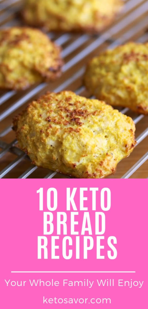 10 Best Keto Low Carb Bread Recipes