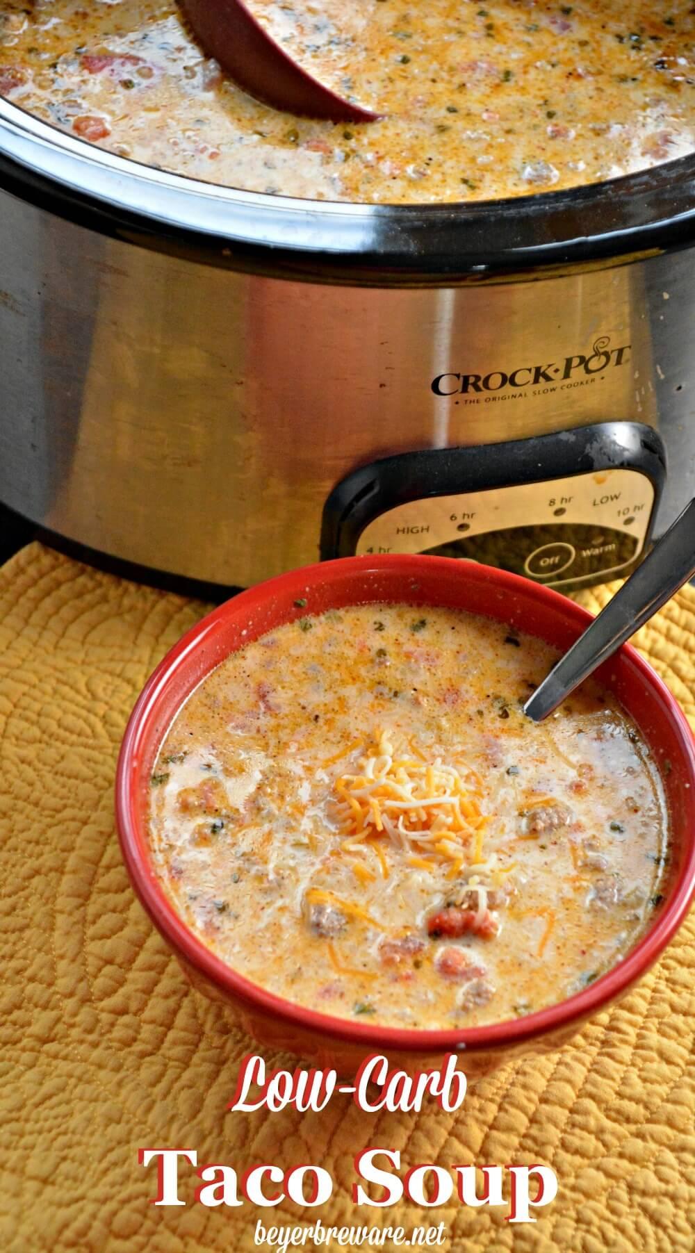Nutritious Keto Crockpot Recipes: Keto Crockpot Soup