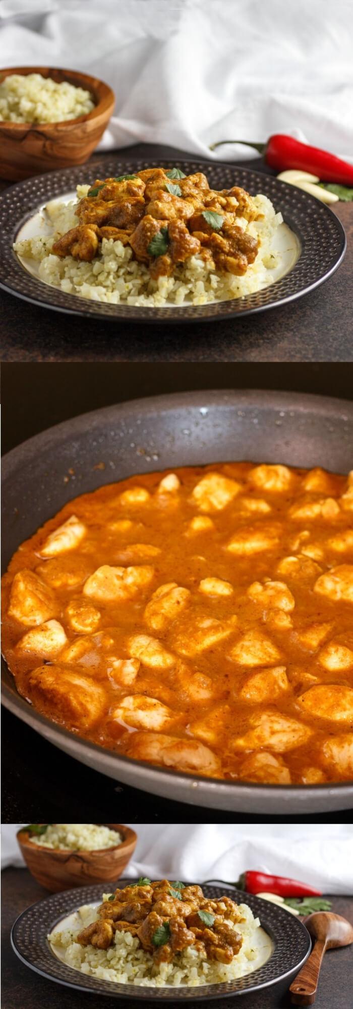 Keto Breakfast Indian - Chicken Korma