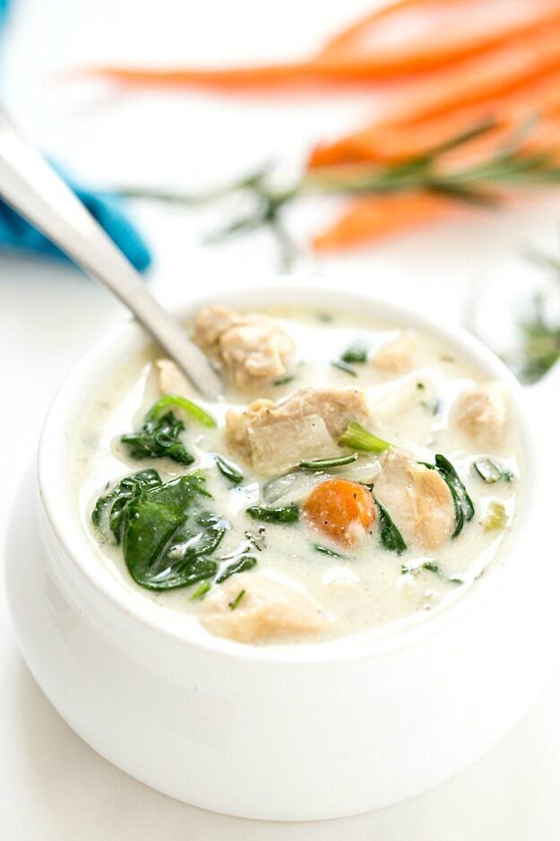 Nutritious Keto Crockpot Recipes: Keto Crockpot Chicken Stew
