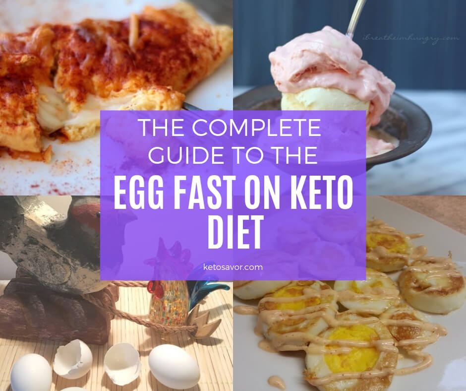 Guide to the Egg fast on Keto Diet