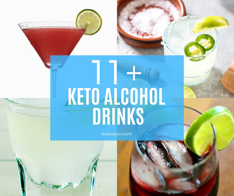 11 Keto Alcohol Drinks to Relax on Friday Nights