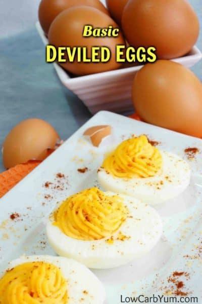Low Carb Deviled Eggs without Vinegar