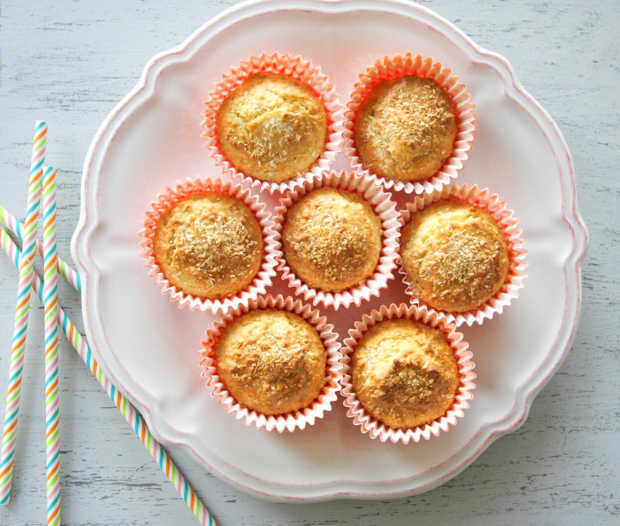 Almond flour coconut muffins