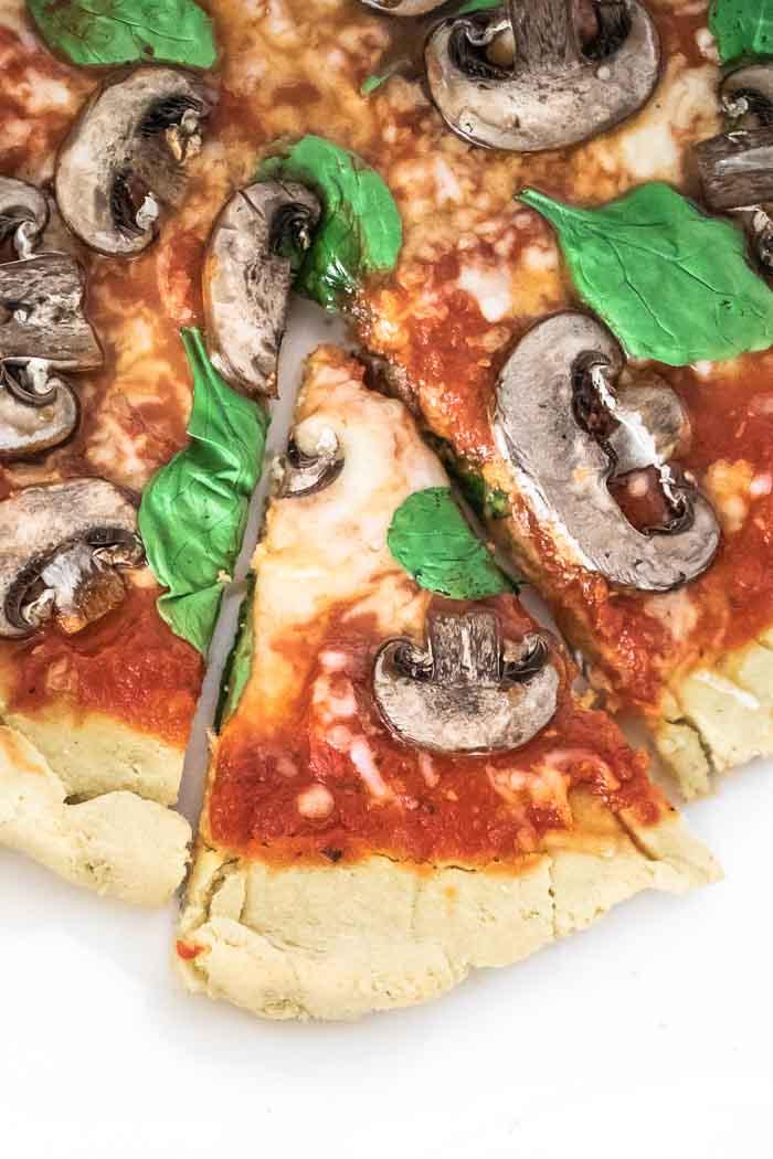 Keto Flatbread Pizza Recipe