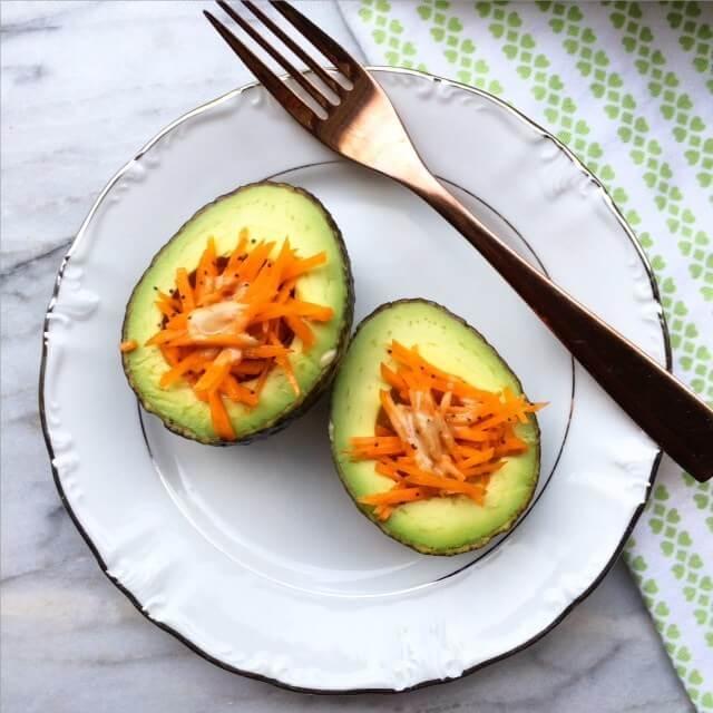 Low carb vegan breakfast Bowls