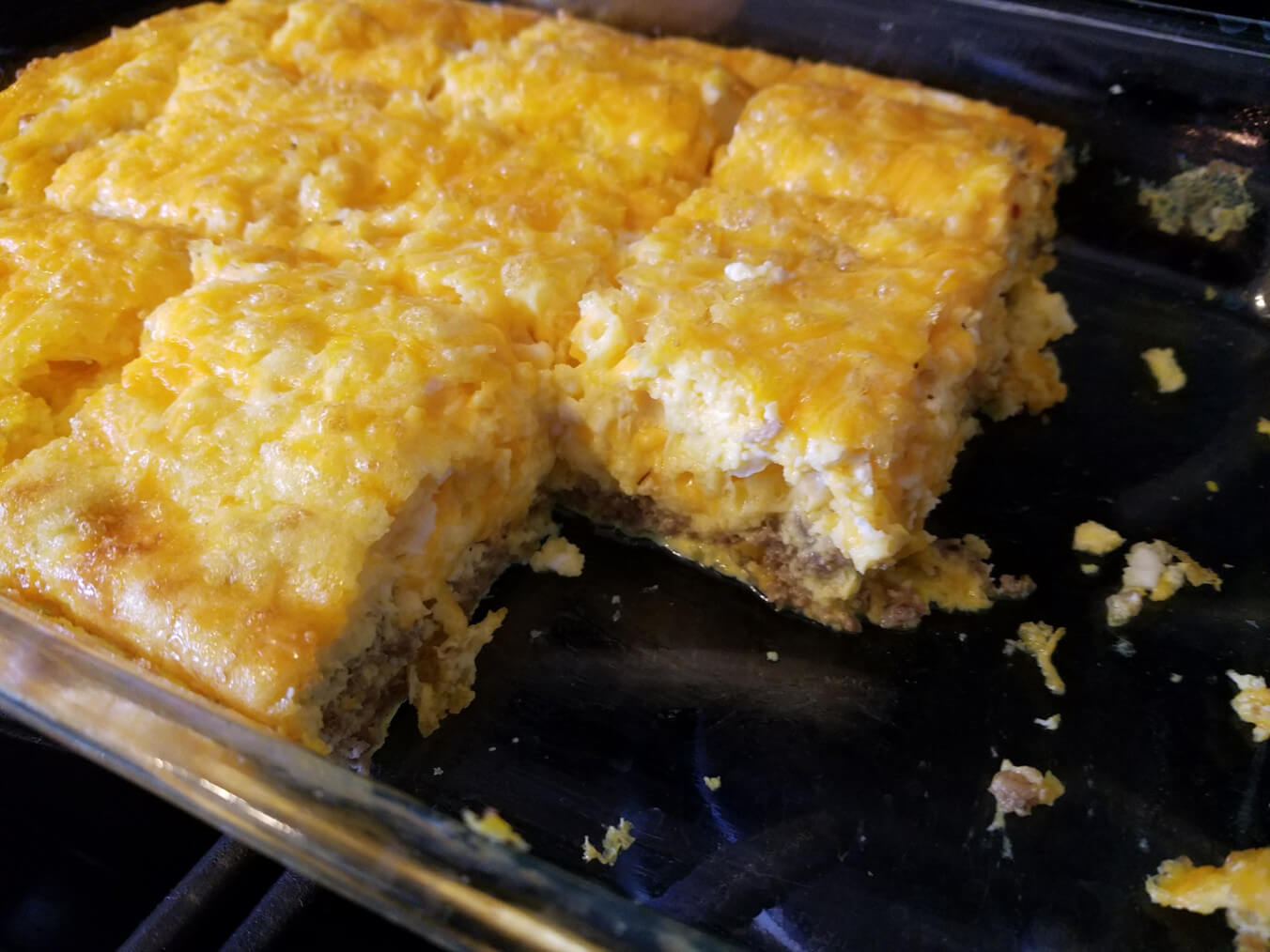 Farmhouse Keto Breakfast Casserole