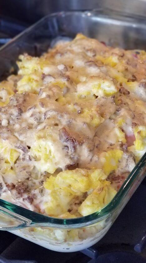 Keto Approved Breakfast Lasagna