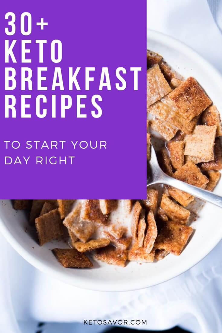 High Nutritious Keto Breakfast Recipes
