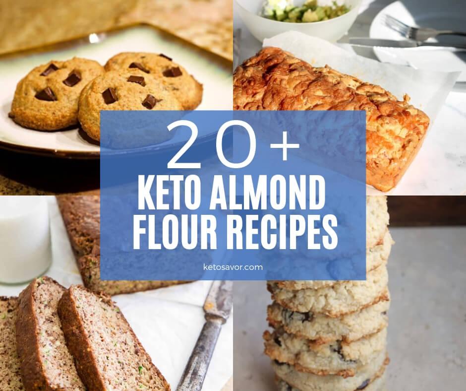 20 Keto Almond Flour Recipes Perfect for Snacking