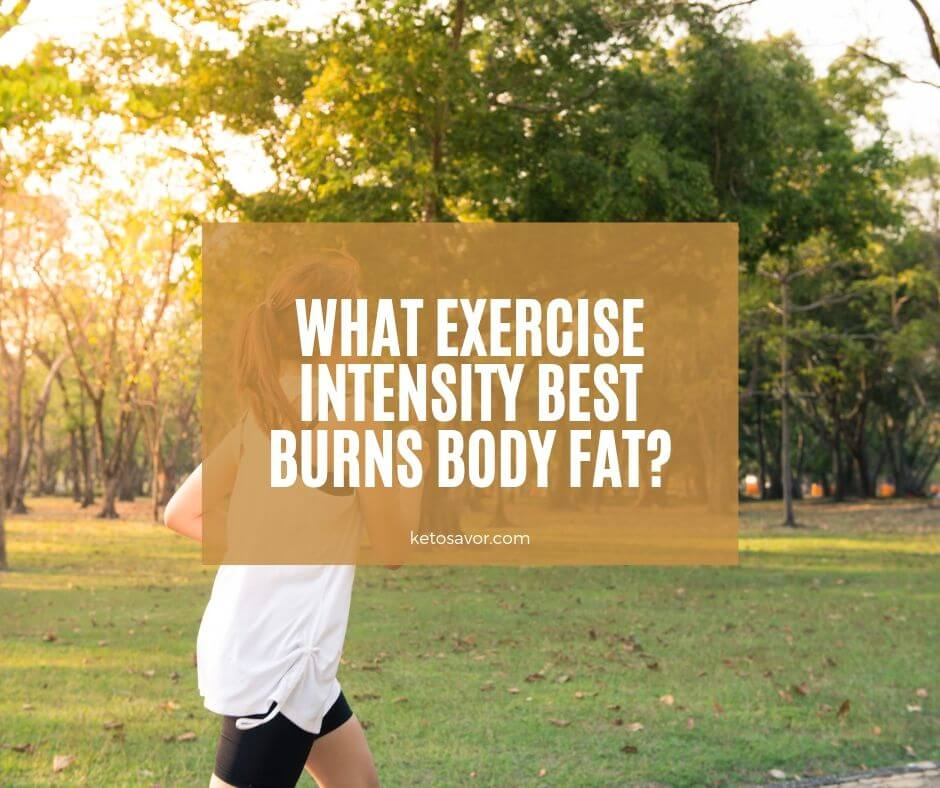 What Exercise Intensity Best Burns Body Fat?
