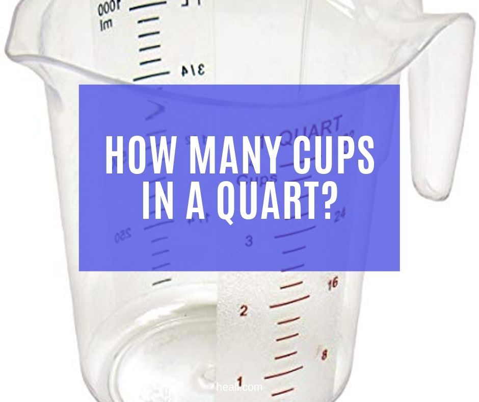 How Many Cups in a Quart?