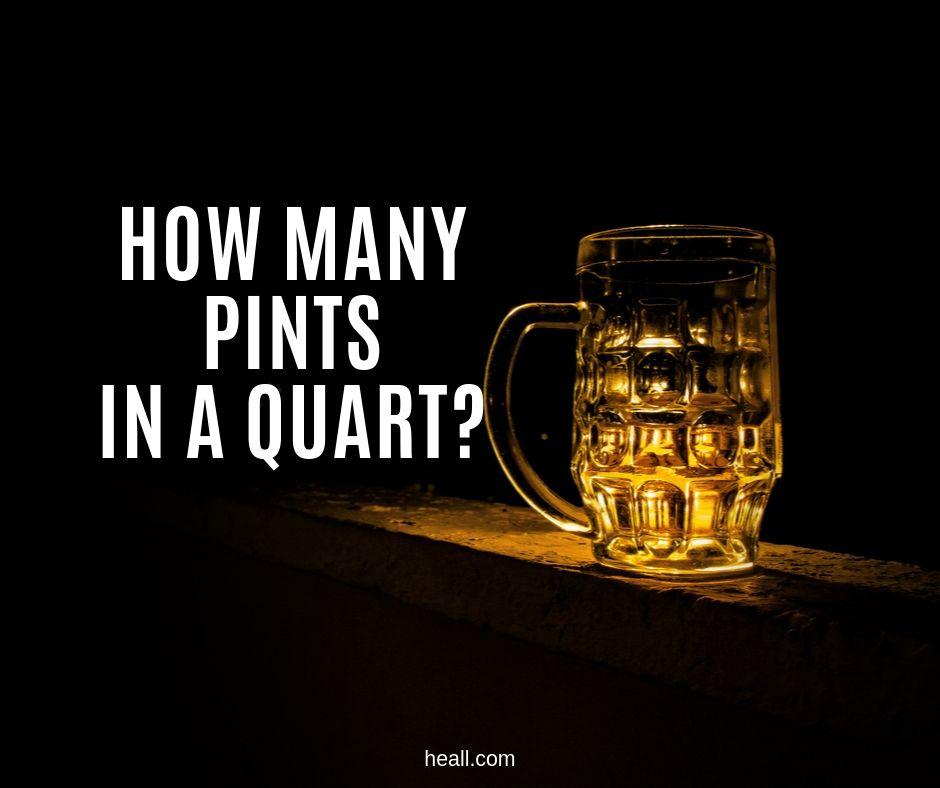 How Many Pints in a Quart?